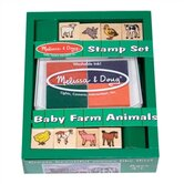 Baby Farm Animals Stamp Set Arts &amp; Crafts Kit