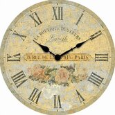 Boutique Roses 14&quot; Wall Clock