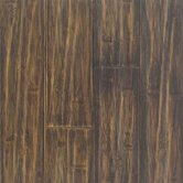 "Solid Distressed Prefinished Horizontal 3-3/4"" Bamboo in Black"