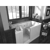 Acrylic 60&quot; x 32&quot; Bath Tub with Dual Massage System