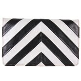 ColorBlock Chevron Wallet
