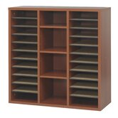 Apres Modular Storage Literature Organiser in Cherry