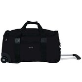 "22"" 2-Wheeled Expandable Carry-On  Duffel"