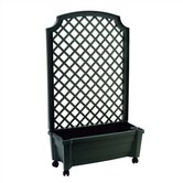 Calypso Square Planter with Trellis