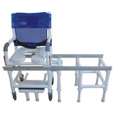 One Step Locking System Transfer Chair