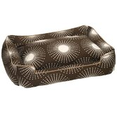 Everyday Cotton Lounge Dog Bed in Sunburst