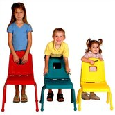 Creative Mix and Match 14&quot; Plastic Classroom Stacking Chair