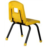 Creative Mix and Match 10&quot; Plastic Classroom Stacking Chair