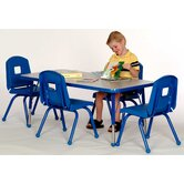 Toddler Height Rectangle Table