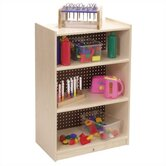 Three-Shelf Mobile Storage Unit