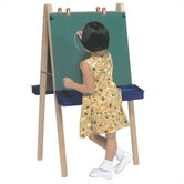 Two Station Chalkboard Easel