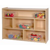 35&quot; High Three Shelf Storage