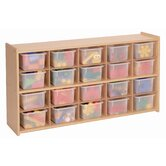 20 Tray Cubby Storage
