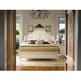 Steel Magnolia Panel Bedroom Collection