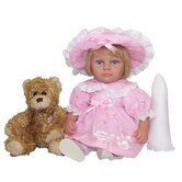 Easter Lilly Doll with Bear