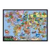 World Framed Wooden Puzzle