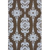 Classic Brown/Baby Blue Kids Rug