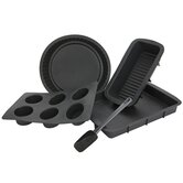 Hell's Kitchen 5 Piece Silicone Baking Set