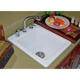 Advantage Scituate Rectangular Self Rimming Bar Prep Sink