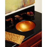 Advantage Fairlawn Self Rimming or Undermount Round Bathroom Sink
