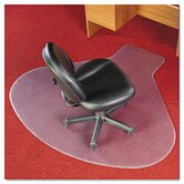 Workstation Chair Mat, Professional Series Anchorbar for Carpet Up To 0.75&quot;