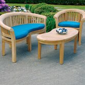 Half Moon Bench Seating Group