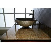 "Reflex Storm 37"" Vanity Top for Vessel Sink with Backsplash"