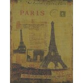 """Paris"" Print Wall Art"