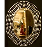 "Diamante ""Glamour and Glitz"" Mirror"