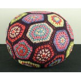 Flower Power Pouffe
