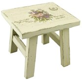 Flower Bouquet Low Stool