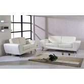 Julie Leather Living Room Collection