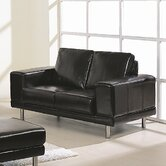 Concorde Bycast Leather Loveseat