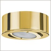 Micro Line Furniture Swiveling Downlight Set in Gold