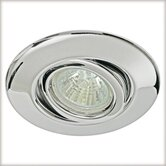 Quality Line One Swiveling Downlight in Chrome