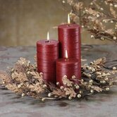 Golden Treasures Metal Wreath Candlestick