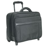 N - 2 Wheeled Laptop Case in Black