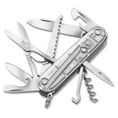 Huntsman Multi-Tool Pocket Knife in Translucent Silver