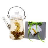 Blooming Teapot Duo LV Tea Gift Set