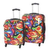 Shiny 2 Piece Luggage Set