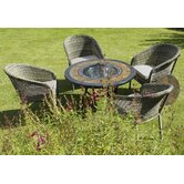 Durango Fire Pit Table and Arundel Chair Collection