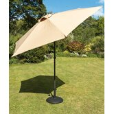 230cm Tuscany Parasol in Beige with Base