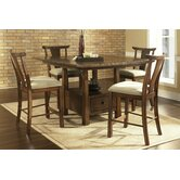 Dakota 5 Piece Counter Height Dining Set