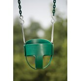Green Baby Swing