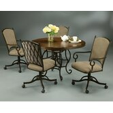 Atrium Elegant 5 Piece Dining Set