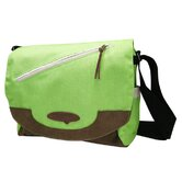 Sleek Messenger Bag in Green