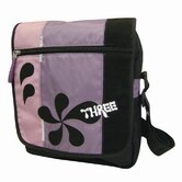 Patchwork Sling Bag in Purple