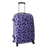 "Leopard 24"" Upright Spinner Suitcase"