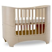 Crib in White Wash with Mattress