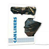 45-Gallon Medium-Grade Can Liner in Black